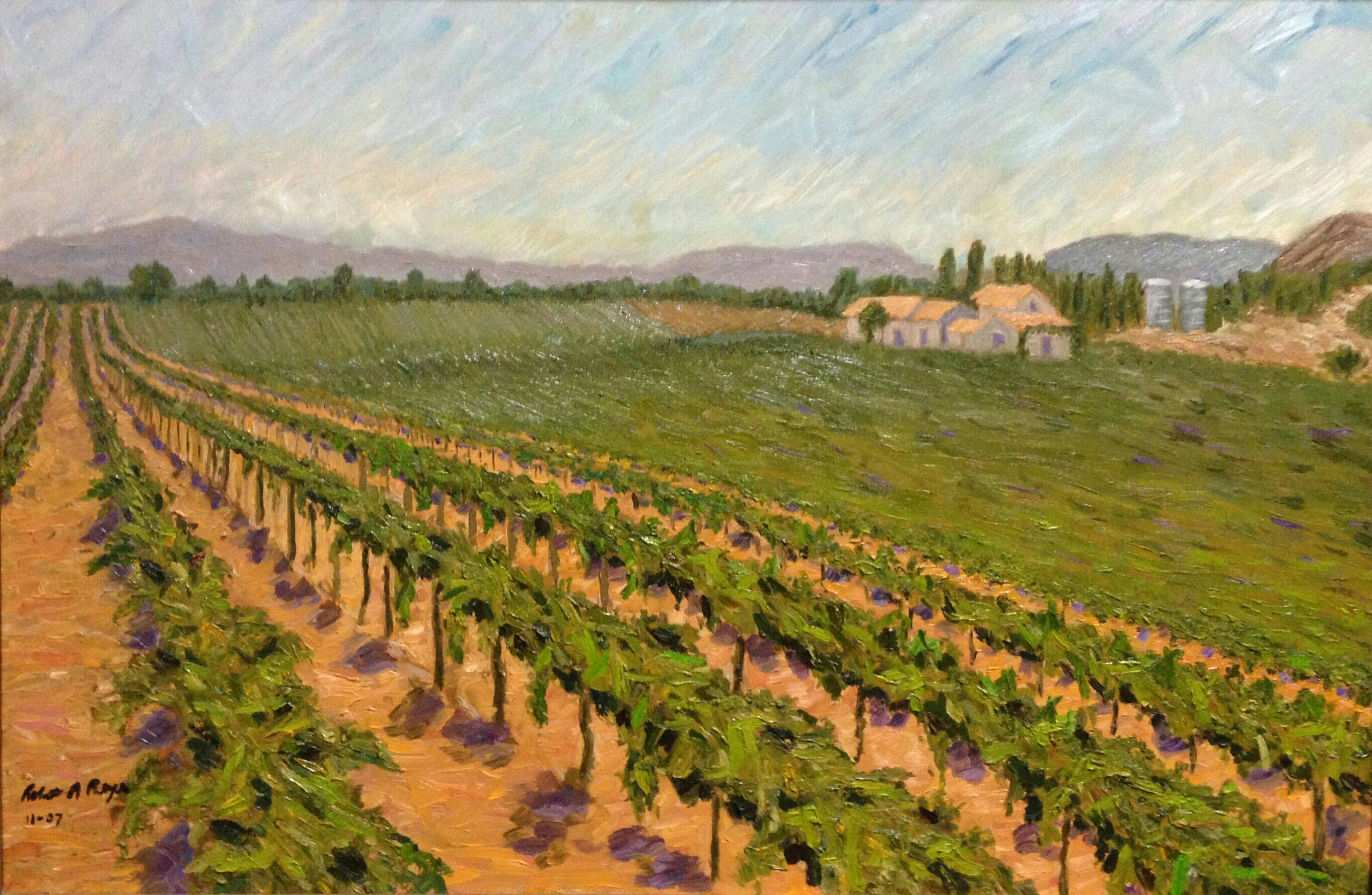 Paintings Reyes Winery