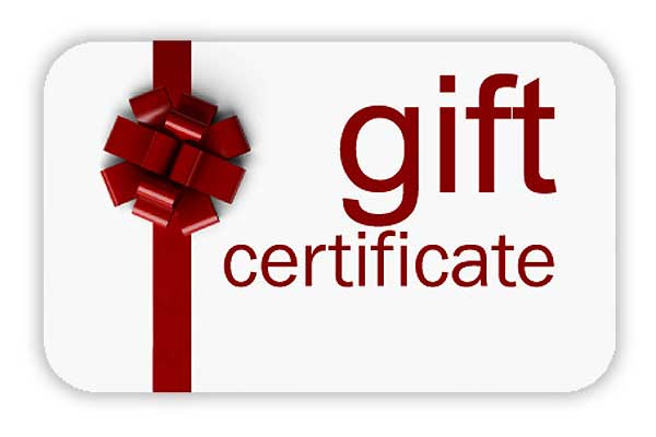 Gift Certificate for Reyes Winery
